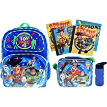 Water Bottle PLUS 2 Notebooks /& 2 Folders Toy Story 4 EXCLUSIVE 16 Backpack Insulated Lunch Tote