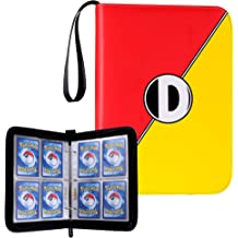 Holds 225 Cards Pokeball Themed Album for Pokemon Trading Cards w// 25 Pages