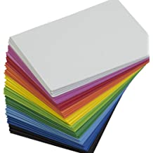 Craft Foam Sheets 3mm/5mm/7mm Thickness Extra Thick! 13 Colors 9.6×9.6 inches EVA Material