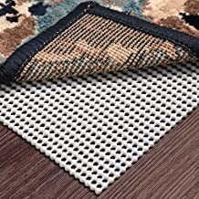 Wosite Non-Slip Area Rug Pad Gripper 2 x 3 Ft Extra Thick Pad for Any Hard Surface Floors Keep Your Rugs Safe and in Place