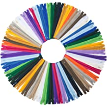 20 Inch WKXFJJWZC 40pcs Nylon Coil Zippers Tailor Sewer Craft 50CM Crafters /&FGDQRS 20//color MIX